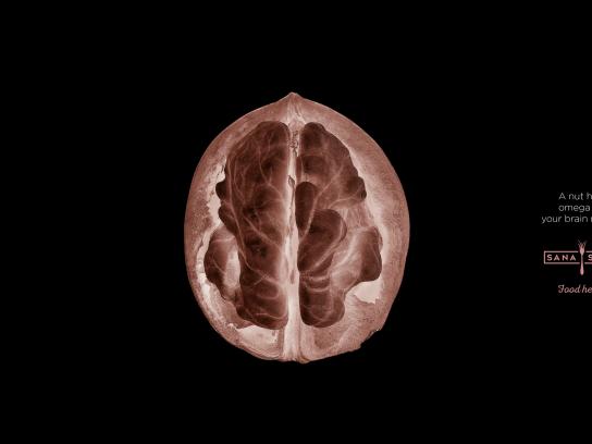 Sana Sana Print Ad - Brain