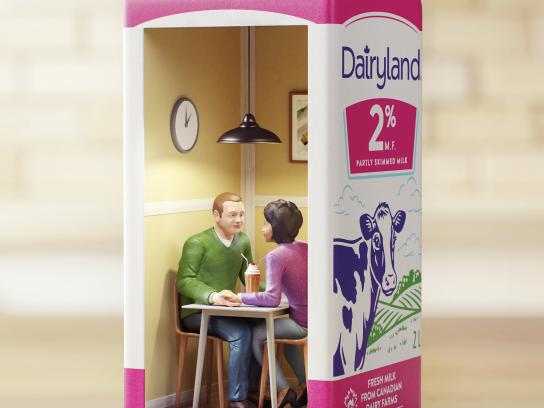 Dairyland Outdoor Ad - Milkshake