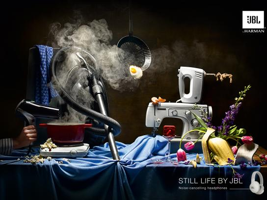 JBL Print Ad - Still Life - Household