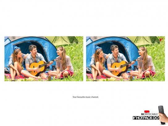 Montecable Print Ad -  Music