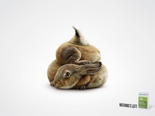 Senna Capsule Print Ad -  Rabbit
