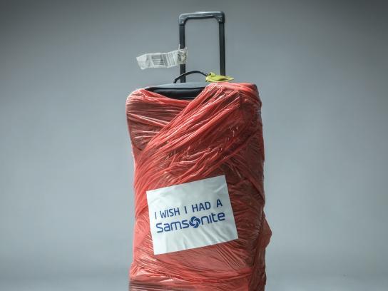 Samsonite Print Ad - Red