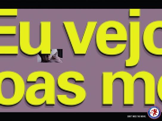 The English Office Print Ad -  Sixth Sense