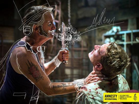Amnesty International Print Ad -  Signatures against torture, 3