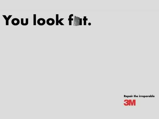 3M Print Ad -  Repair the irreparable, 2
