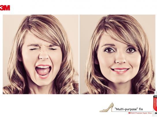 3M Print Ad -  Woman