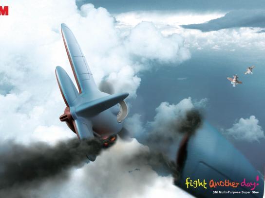 3M Print Ad -  Plane