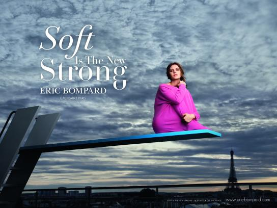 Eric Bompard Print Ad - Soft Is The New Strong, 1