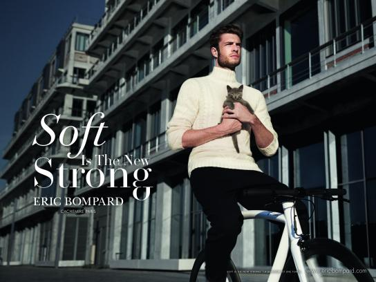 Eric Bompard Print Ad - Soft Is The New Strong, 3