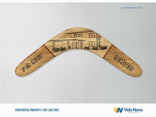 Vida Nova Print Ad -  Boomerang