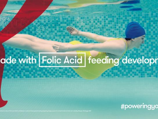 Kellogg's Outdoor Ad - Folic Acid