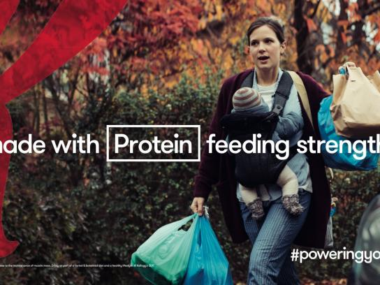 Kellogg's Outdoor Ad - Protein