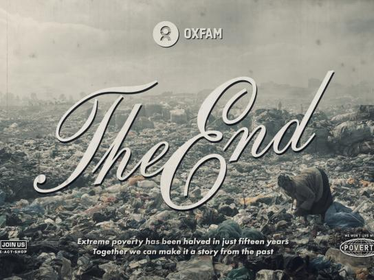 Oxfam Print Ad - Elizabeth