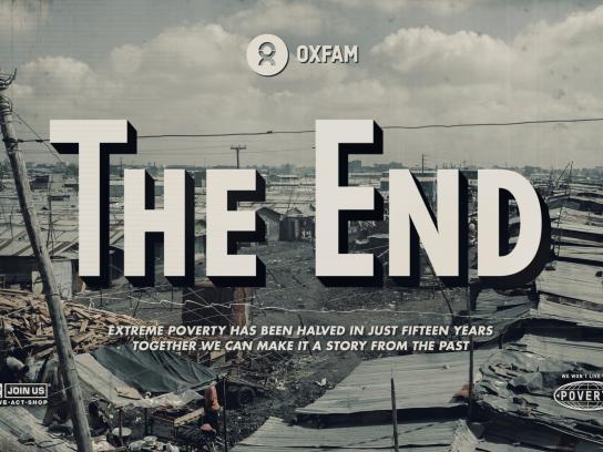 Oxfam Print Ad - Mukuru