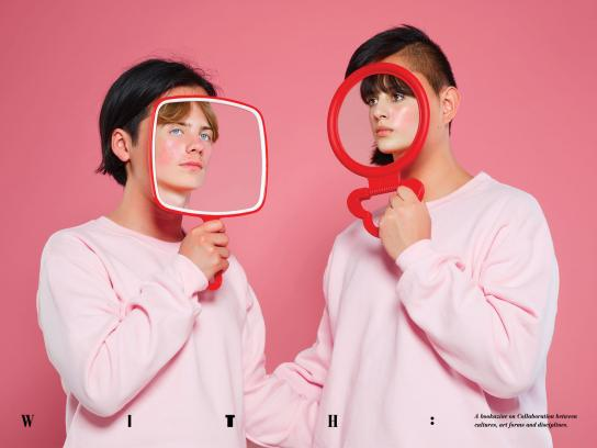 WITH Print Ad - Mirrors