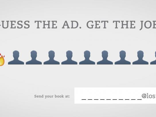 Lost Boys Paris Print Ad -  Guess the ad, 4