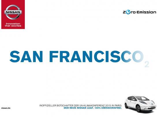 Nissan Print Ad -  San Francisco