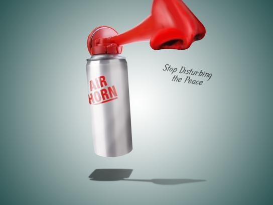 Breathe Right Print Ad -  Airhorn
