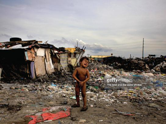 Getty Images Print Ad - Poverty