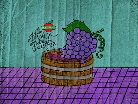 Hortifruti Print Ad -  Grape