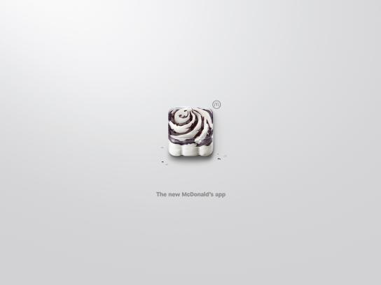 McDonald's Outdoor Ad - App-Icons, McSundae