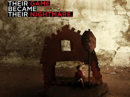 Save the Children Print Ad - Their Game Became Their Nightmare, 4