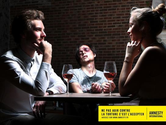 Amnesty International Print Ad -  Bar