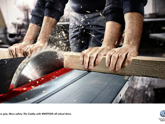 Volkswagen Print Ad -  More Grip. More Safety., 3