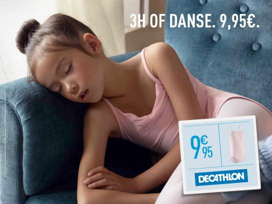 Decathlon Print Ad -  Tired, 1