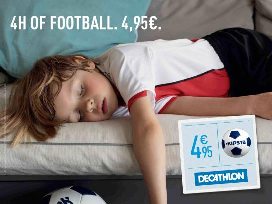Decathlon Print Ad -  Tired, 2