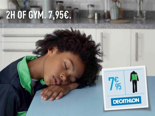 Decathlon Print Ad -  Tired, 4