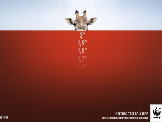 WWF Print Ad -  Giraffe