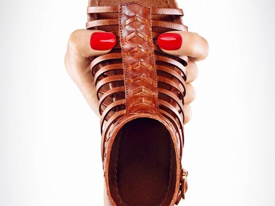 MAX Shoes Print Ad -  Gladiators