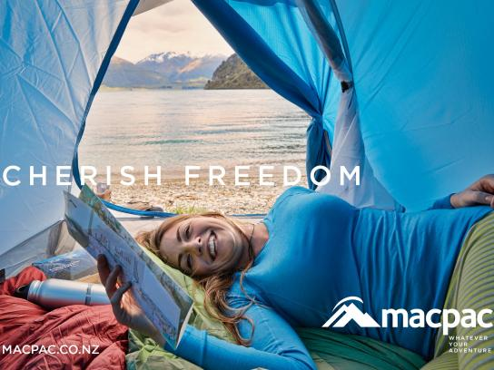 Macpac Outdoor Ad -  Freedom