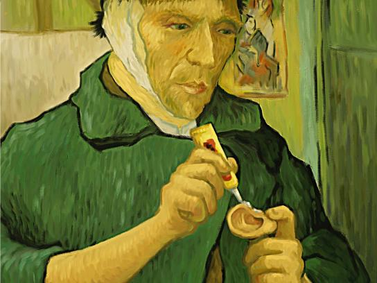 Panasonic Print Ad -  Van Gogh
