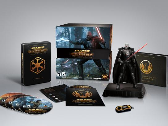 Star Wars: Old Republic Design Ad - Collector's Edition
