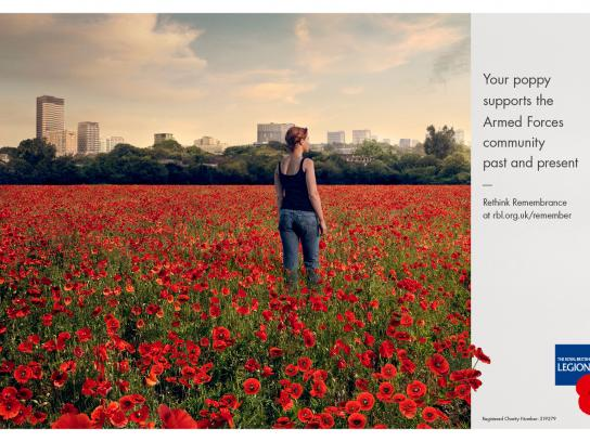The Royal British Legion Print Ad - Poppy, 1