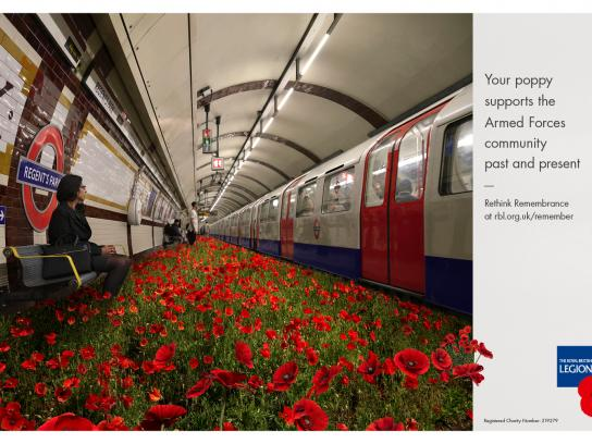 The Royal British Legion Print Ad - Poppy, 2