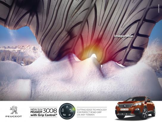 Peugeot Outdoor Ad - Inseparable