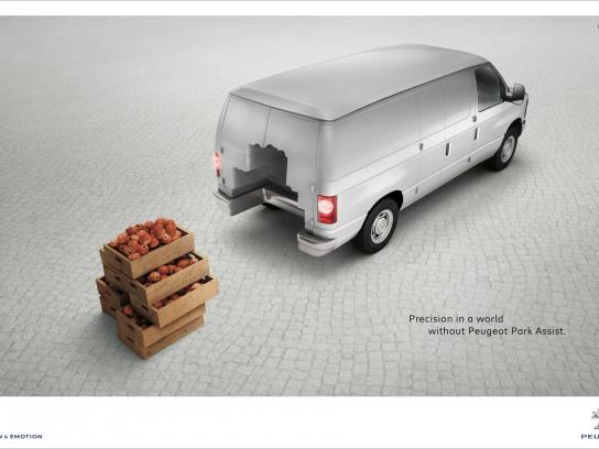 Peugeot Print Ad -  Shapes, 3
