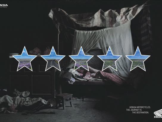 Honda Print Ad -  5 stars, 2