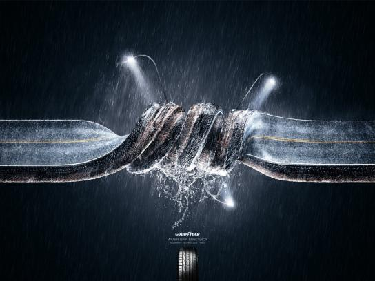 Goodyear Print Ad -  Knot