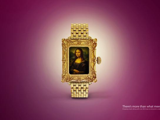 Cairo Festival City Mall Print Ad - Watch