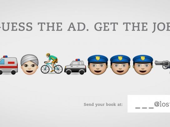 Lost Boys Paris Print Ad -  Guess the ad, 5