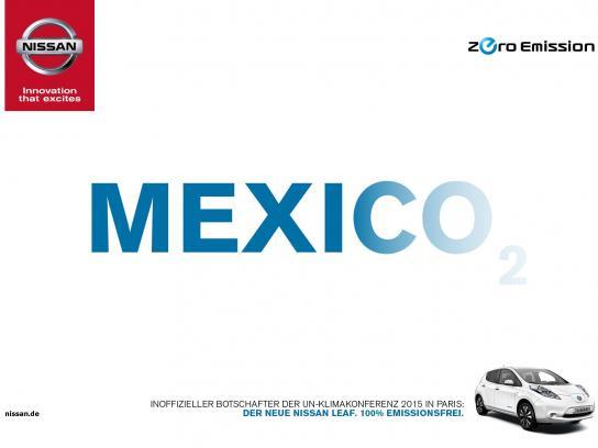Nissan Print Ad -  Mexico