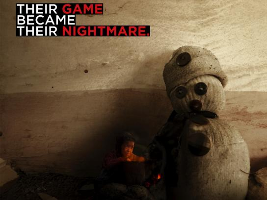 Save the Children Print Ad - Their Game Became Their Nightmare, 5