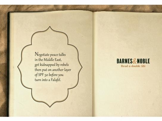 Barnes & Noble Print Ad -  Read a double life, 3