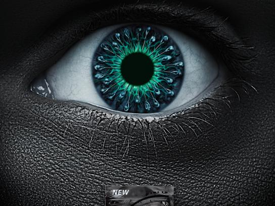 Wrigley's Outdoor Ad -  Focus humanoid