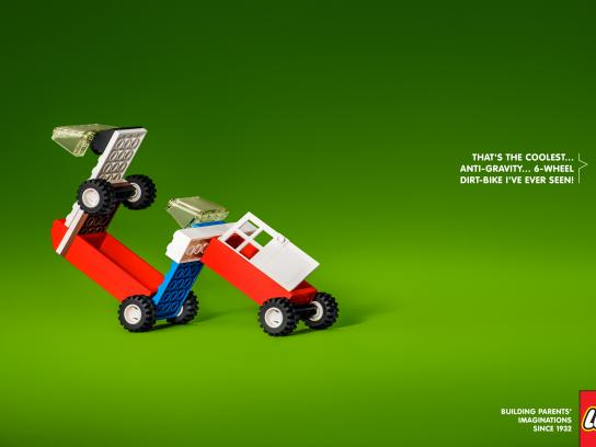 Lego Print Ad - 6-wheel Dirt Bike