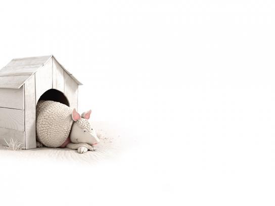 Airbnb Print Ad - Aardvark